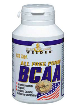 All Free Form BCAA - , 130 tablet