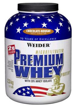 Premium Whey Protein - čokoláda nugát, 2300 g