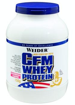 CFM Whey Protein - jahoda, 750 g