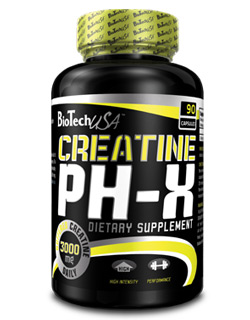 Creatine pH-X - , 210 kapsl�