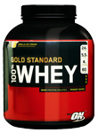 Optimum 100% Whey Gold - banán, 2273 g