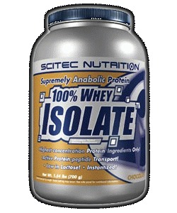 100% WHEY ISOLATE - jahoda, 1800 g