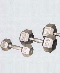 SADA JEDNORUČEK HEXA LITINA 12,5 - 50KG - 12,5-50kg (12 párů), 1