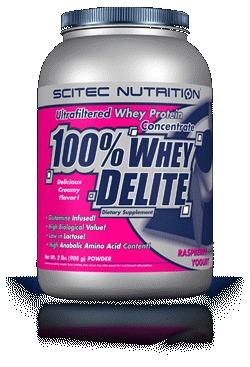 100% WHEY DELITE - vanilka berry, 920g