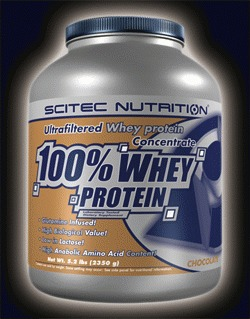 100% WHEY PROTEIN ISOLATE - jahoda, 900 g