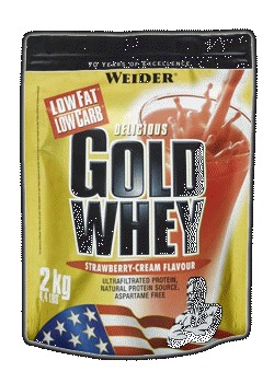 Gold Whey - banana split, 500 g