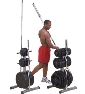 Stojan na tyče a závaží Body-Solid GSWT - , 1 ks
