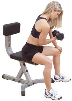 GST20 Body-Solid Posilovací židle - , 1 ks