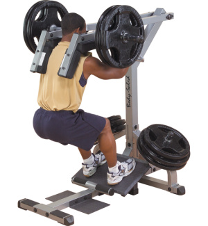 GSCL360 Body-Solid Leverage Squat/Calf machine - , 1 ks