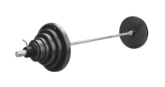 Olympijská činka inSPORTline BS11 - 140 kg, 1 sada