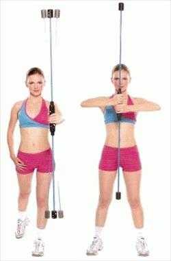 Aerobic tyč Swing Flex Bar - , 1 ks