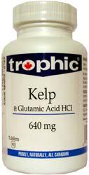 Kelp+kyselina Glutamová - , 90 tablet