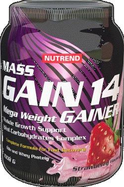 MASS GAIN 14 - vanilka, 1000 g