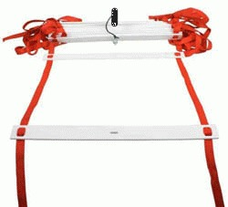proskakovačka koordinační žebřík, agility žebřík - 4m, 1 ks
