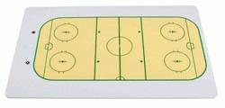 Hokejová tabule A4 oboustranná - , 1 ks
