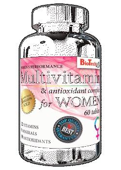 Multivitamin for Women - , 60 tablet min. trv. do 19.7.2019