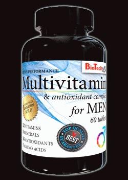 Multivitamin for Men - , 60 tablet min. trv. do 9.8.2019