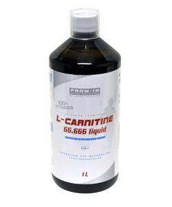 L-carnitine 66.666 Liquid - jahoda, 1000 ml