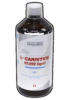 L-carnitine 99.999 liquid - pomeranč, 1000 ml