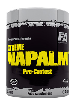 Xtreme Napalm Pre-Contest - hruška - kiwi, 500 g