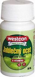Jablečný ocet s vitamíny C a E - , 60 tablet