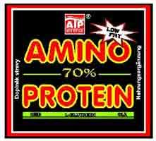 Amino Protein 70% 3 kg - jahoda, 3000 g