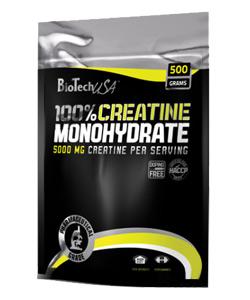 100% Kreatin monohydrát 500g bag - , 500 g