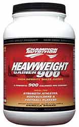 Heavy Weight Gainer 900 - 1500 g - čokoláda, 1500 g