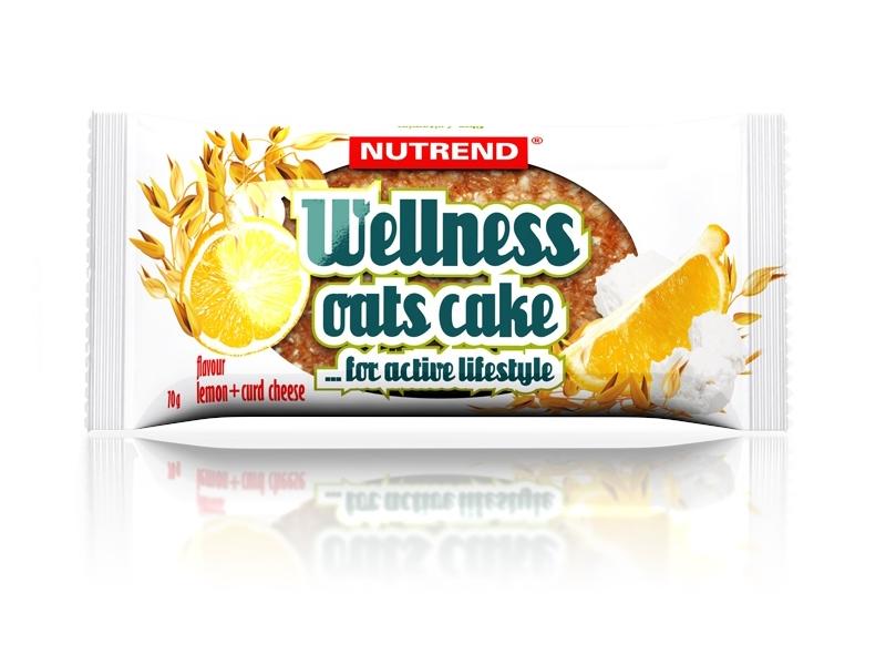 Wellness Oats Cake - ledová káva