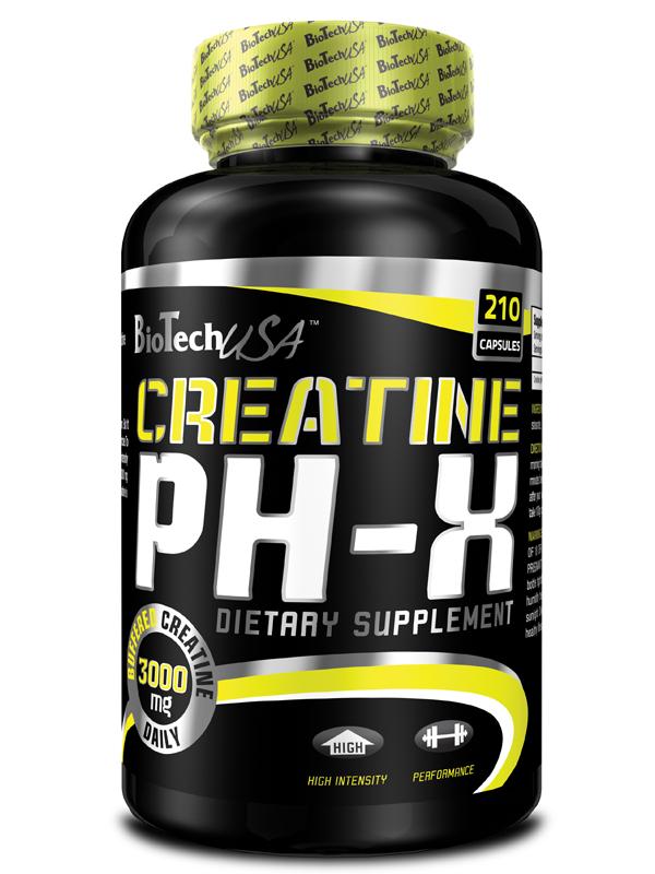 Creatine pH-X - , 210 kapslí