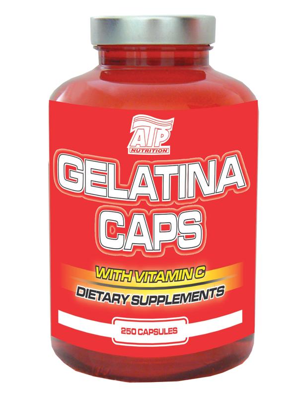 Gelatina ATP Caps - , 250 kapslí