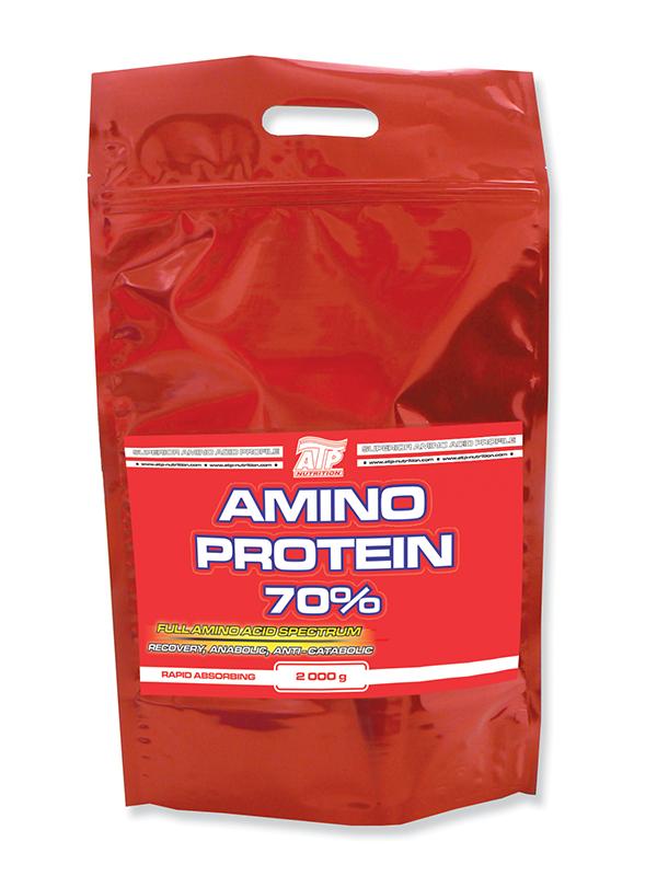 Amino Protein 70% - banán, 2000 g