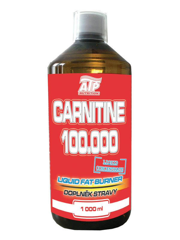Carnitine 100000 - višeň, 1000 ml