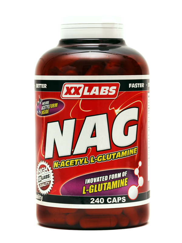 NAG - N-Acetyl L-Glutamine - , 240 kapslí