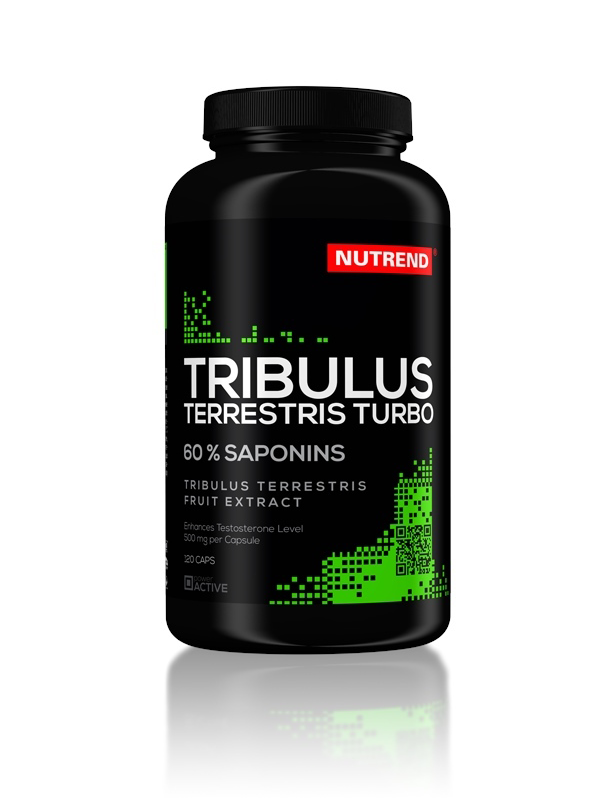 Tribulus Terrestris Turbo - , 120 kapslí