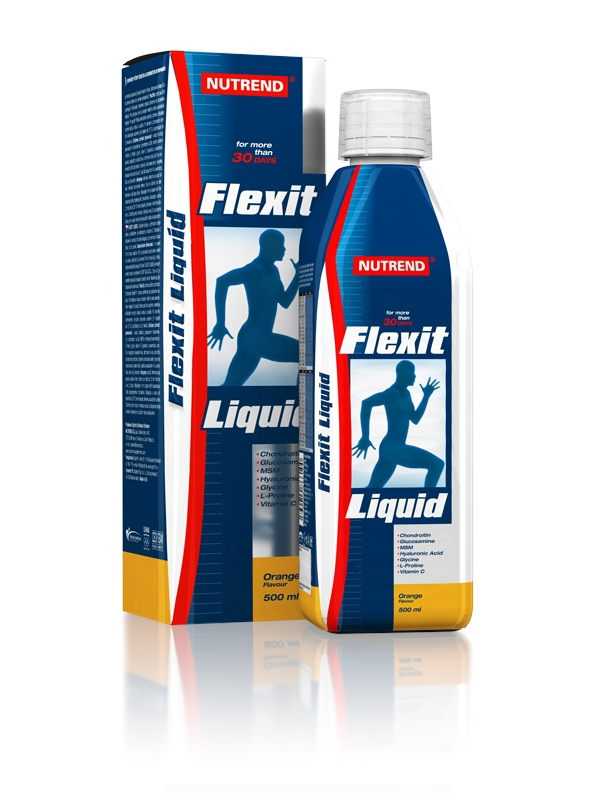 Flexit Liquid - pomeranč, 500 ml