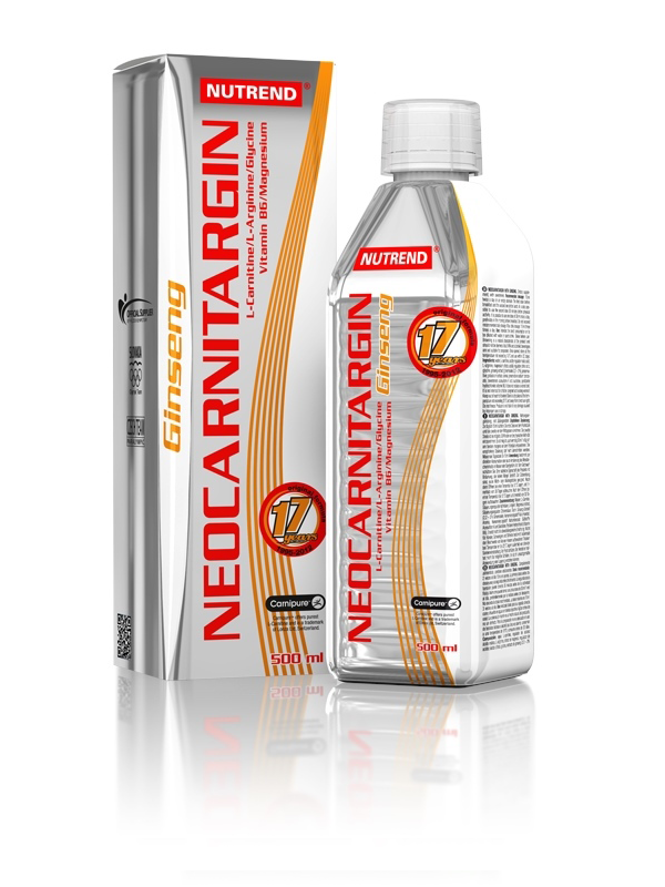 NeoCarnitargin s ženšenem - citron, 500 ml