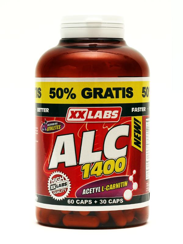 ALC - Acetyl L-Carnitin 90cps - , 90 kapslí
