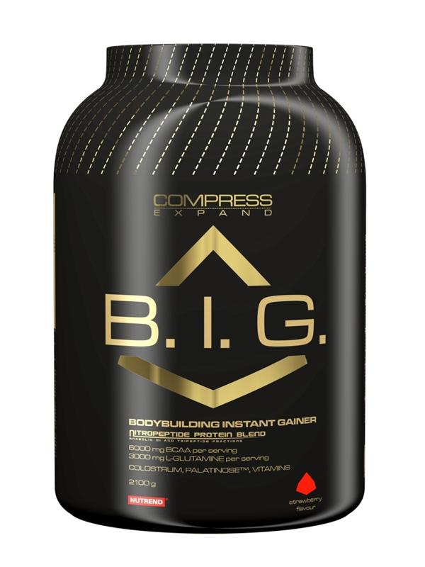 COMPRESS B.I.G. - vanilka, 910 g