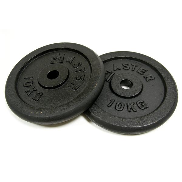 Kotouč kov (pár) - 25 kg, 1 pár