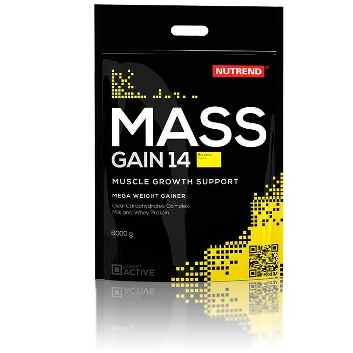 MASS GAIN 14 - vanilka, 6000 g