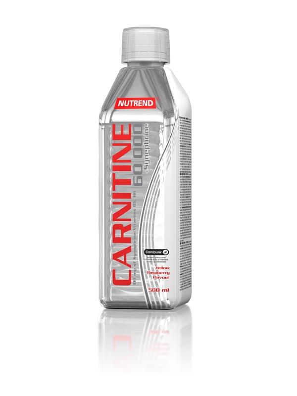 Carnitin 60000 + Synephrine - žlutá malina, 500 ml