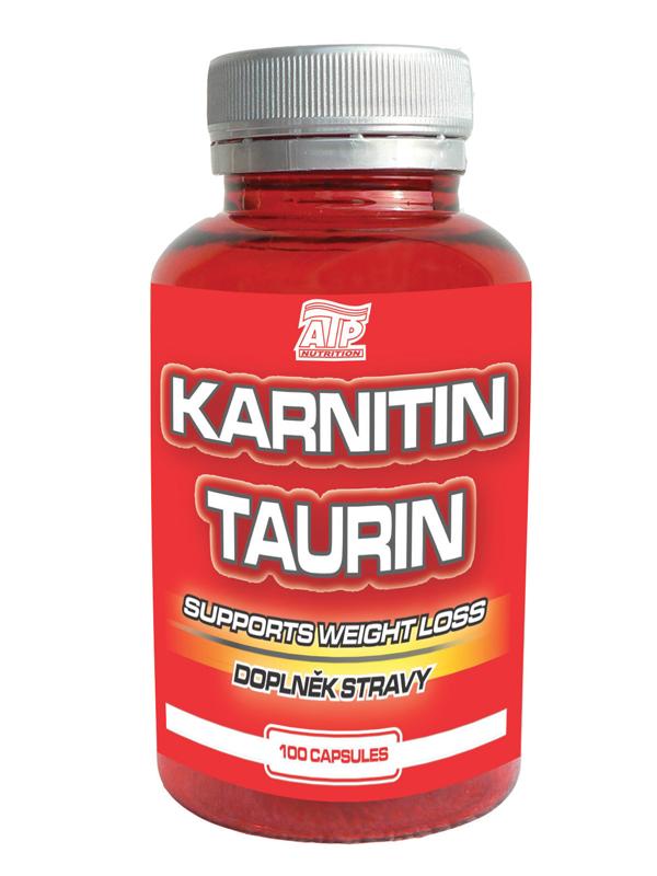 L-Karnitin plus Taurin - , 100 kapslí