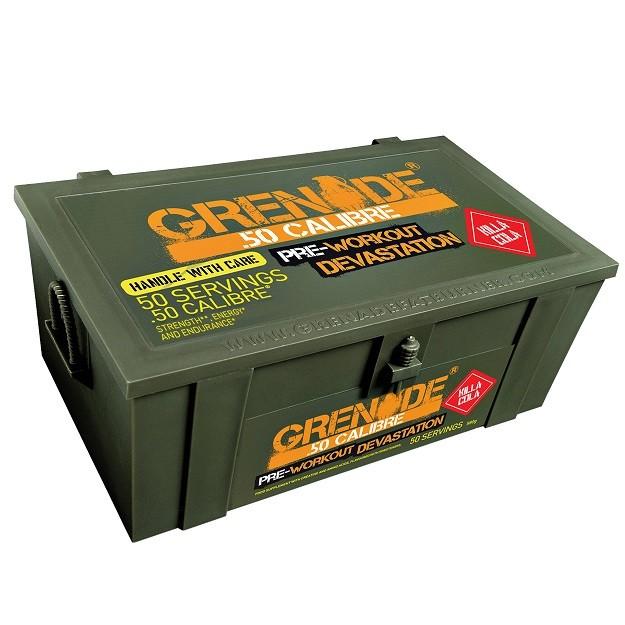 Grenade .50 CALIBRE - citron, 580 g