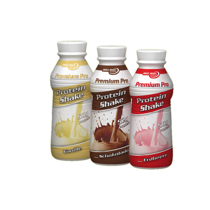 Premium Pro Protein Shake - čokoláda, 500 ml