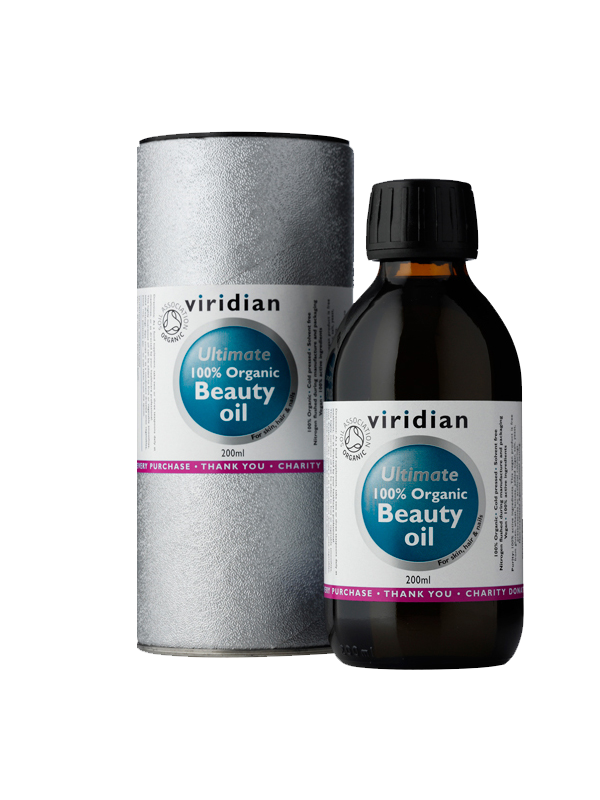 100% Organic Beauty Oil 200ml - , 200 ml