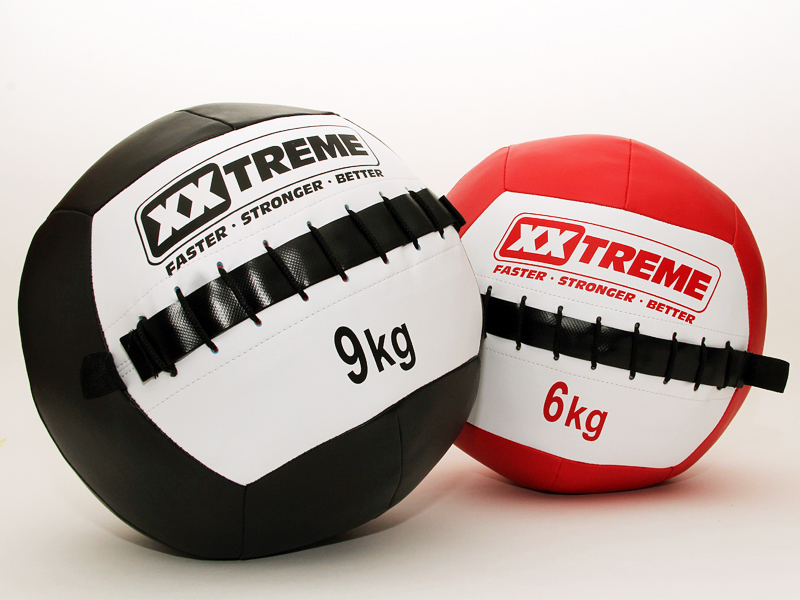 XXTREME Wall Ball - Medicineball - , 6 kg