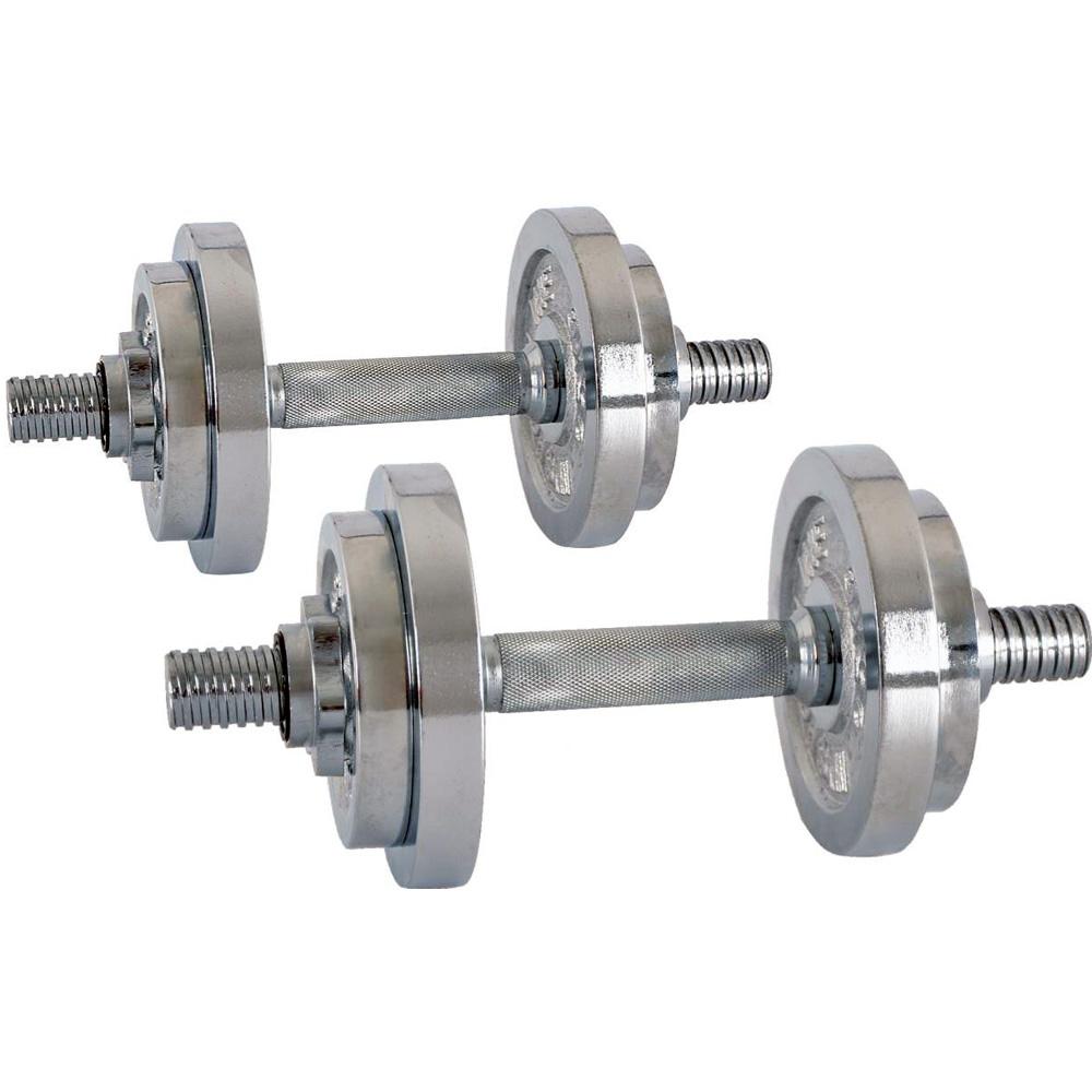 Nakládací jednoručky inSPORTline 2 x 3-10 kg - , 1 sada