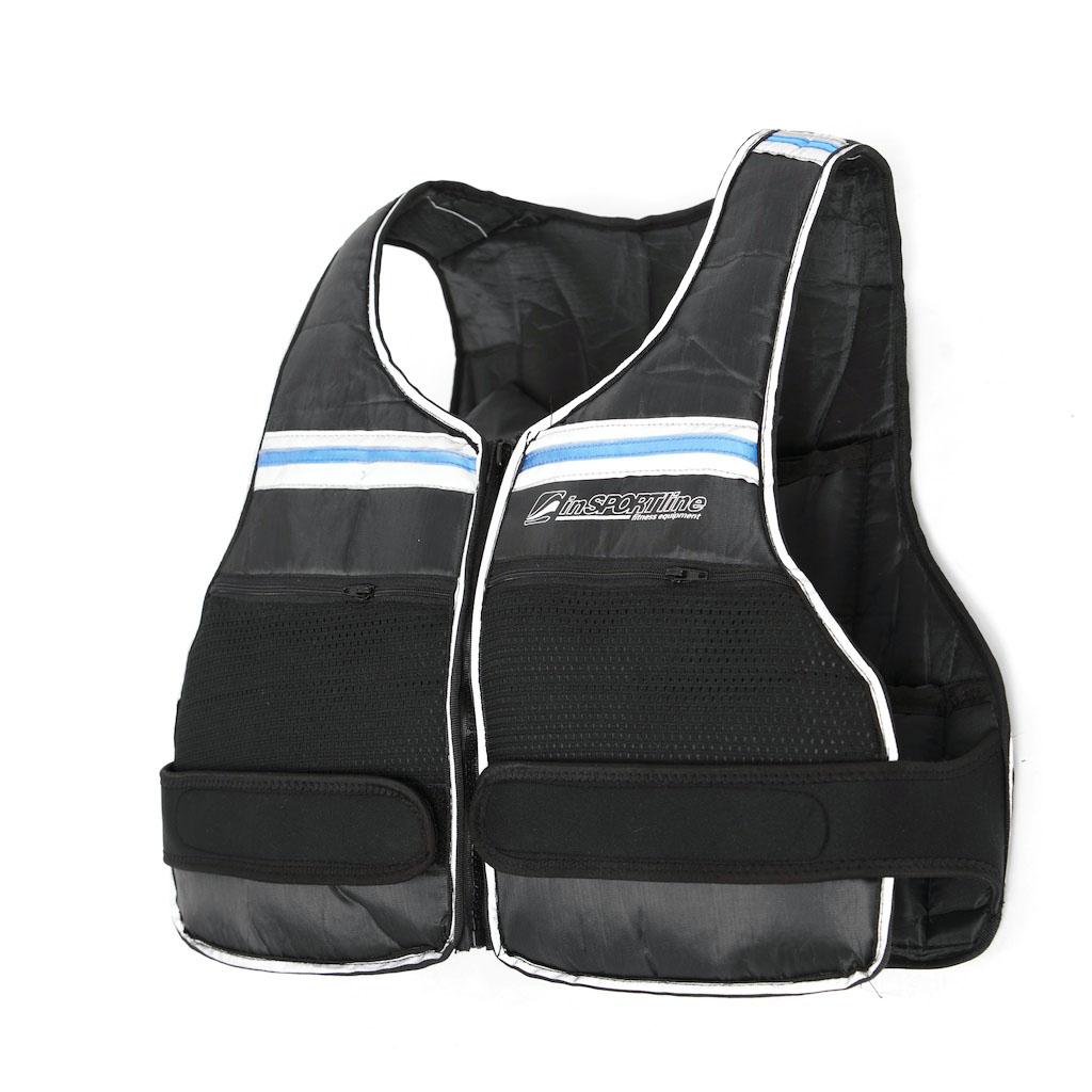 Zátěžová vesta inSPORTline - max 10 kg - , 1 ks