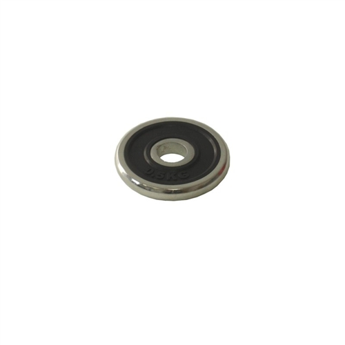 Kotouč chrom s gumou ARSENAL - 5 kg, 1 ks